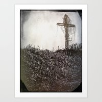 cross Art Prints featuring Cross by Jean-François Dupuis