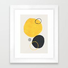 Silan Framed Art Print