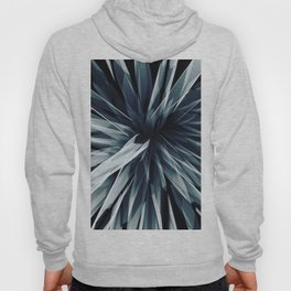 Perspective Facets-Retro Blue Hoody