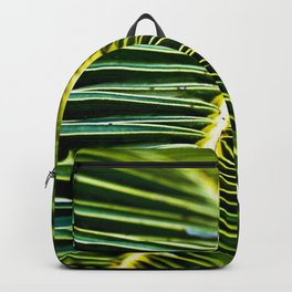 Magic Green Palm Leaves Backpack