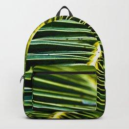 Magic Green Palm Leaves Backpack