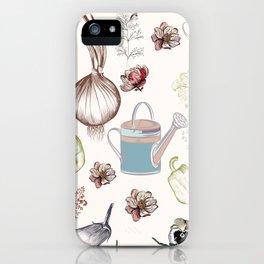 Cozy kitchen garden iPhone Case