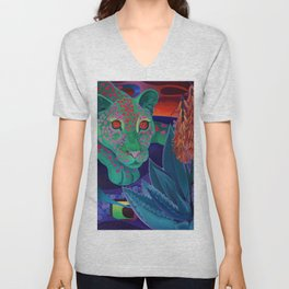 Whispers of the night. Unisex V-Neck