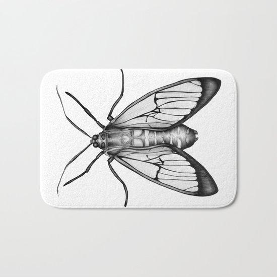 Wasp Moth Bath Mat