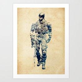 Tom Preacher Art Print