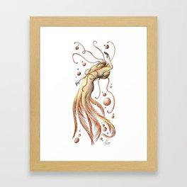 Mermaid 20 Framed Art Print