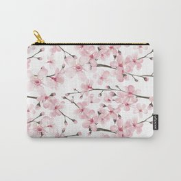 Watercolor cherry blossom Carry-All Pouch