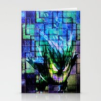 gengar Stationery Cards featuring Gengar Blix by Angela Chevelle