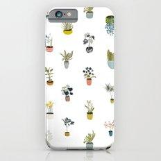 plants in pots iPhone 6s Slim Case