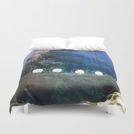 Art & The Moon (1) Duvet Cover