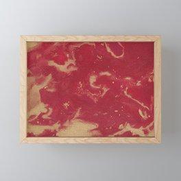 Red Sea Framed Mini Art Print