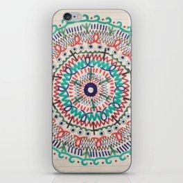 Pin Wheel Mandala iPhone Skin