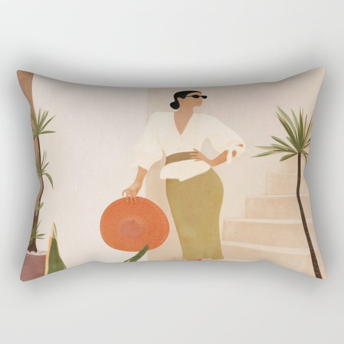 Wonders of the New Day Rectangular Pillow