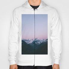 Sunset Mountains (pastel) Hoody