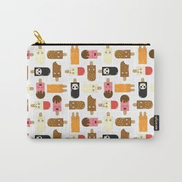 Ice Cream Challenge Character pattern Carry-All Pouch