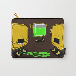 Radioactive Tupper Carry-All Pouch
