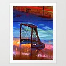 Empty Net Art Print
