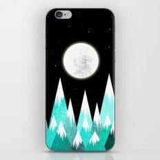 Blue Night iPhone Skin