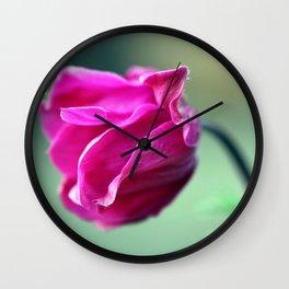 Anemone Bud Wall Clock