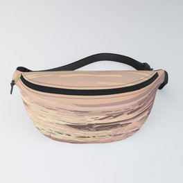 Sea waves at sunset #ocean #horizon #seascape Fanny Pack
