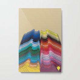 Pharrell Supercolor Metal Print