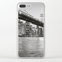 After Sunset in Brooklyn Clear iPhone Case