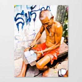 Thai Merchant Canvas Print