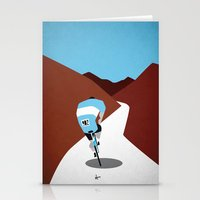 cycling Stationery Cards featuring Cycling by Osvaldo Casanova