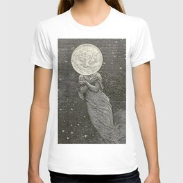 AROUND THE MOON - EMILE-ANTOINE BAYARD T-Shirt