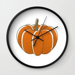 Pumpkin Wall Clock