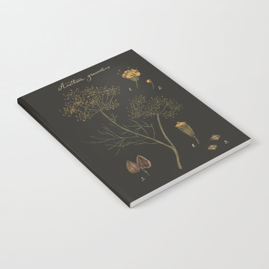 Dill (Dark Background) Notebook