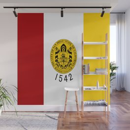 flag of San Diego Wall Mural