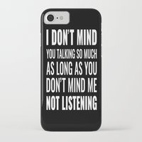 sarcasm iPhone & iPod Cases featuring Sarcasm Quote by JasmineLeflore