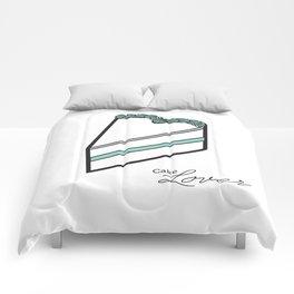 Cake lover Comforters
