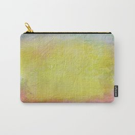 Thick pastel colored  texture Carry-All Pouch