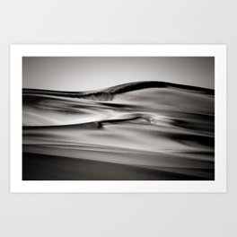 Desert Sands X Art Print
