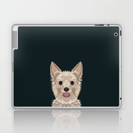 Tanner - Yorkshire Terrier gifts and gifts for dog person and dog people gift ideas Laptop & iPad Skin