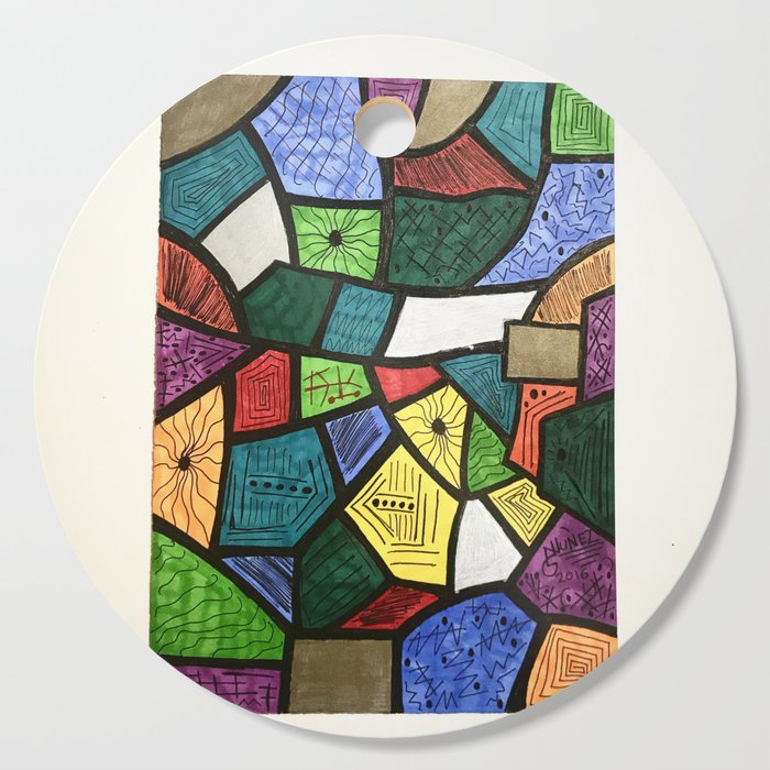 Abstract drawing Cutting Board