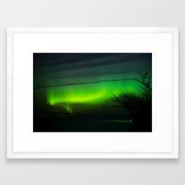 Michigan Aurora Framed Art Print