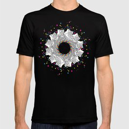 Mandala shoes T-shirt
