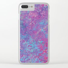 Acid Wash Clear iPhone Case