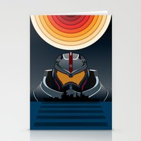 pacific rim Stationery Cards featuring Pacific Rim by milanova