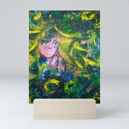 Flowers Of The Deeep Mermaid Mini Art Print