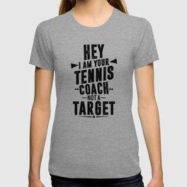 7375cffd Tennis Tennisplayer Racket Tenniscoach Gift T-shirt
