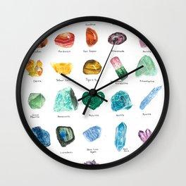 Rainbow Chart Wall Clock