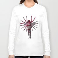goddess Long Sleeve T-shirts featuring Goddess by Marie Pascale L