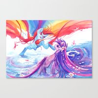 mlp Canvas Prints featuring MLP by Cari Corene