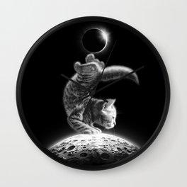 MOONCAT 2018 Wall Clock