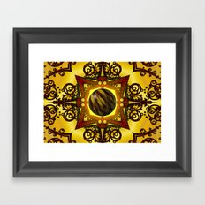 Stuck In The Middle Framed Art Print