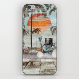 Alice Goes to California iPhone Skin